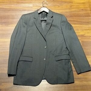 Calvin Klein Men's Gray Sports Coat 42R